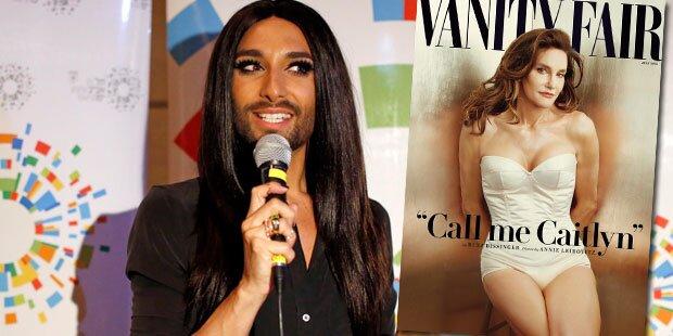 Das hält Conchita Wurst von Caitlyn Jenner