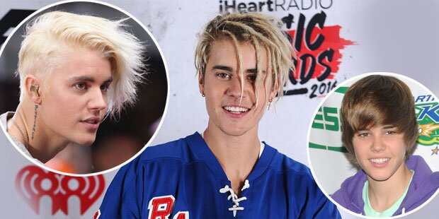 Bieber: Was ist seine schlimmste Frisur?