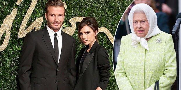 Beckhams: Bald reicher als die Queen