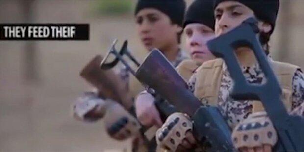 ISIS droht mit Armee von Waisenkindern