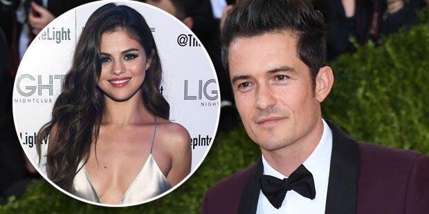 Bloom knutscht mit Selena Gomez fremd