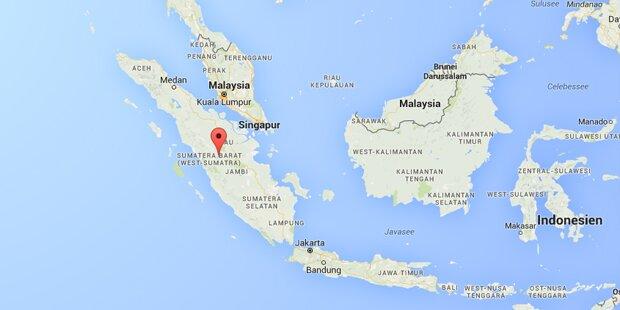 Erdbeben erschütterte Sumatra