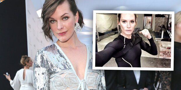 Milla Jovovich-Double verliert Arm