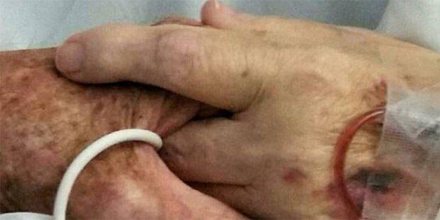 Paar stirbt nach 59 Jahren Hand in Hand