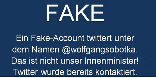 Twitter-Troll legt Sobotka rein