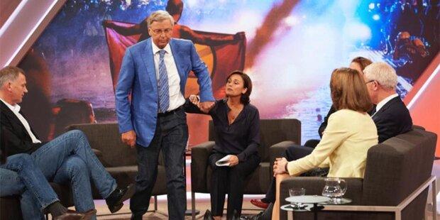 CDU-Politiker verlässt ARD-Talk vor laufender Kamera
