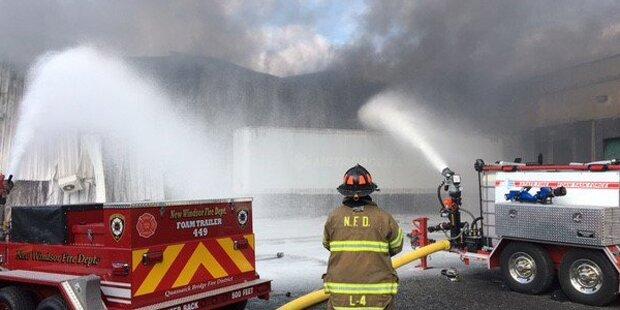 40 Verletzte bei Explosionen nahe New York