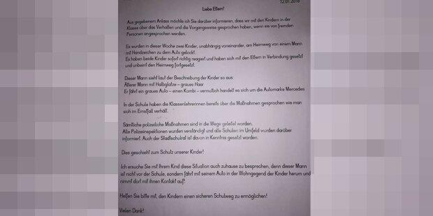 Wiener Schule warnt vor Kindesentführer