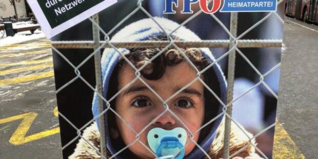 FPÖ-Fake-Plakate: Urheber ausgeforscht