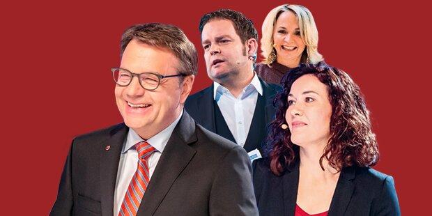 ÖVP klar vor SPÖ, FPÖ und Grüne