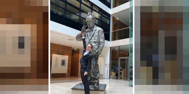 Kern: High Five mit Willy Brandt