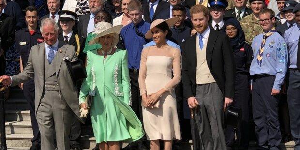 Harry & Meghan: Ihr 1. Auftritt nach der Hochzeit
