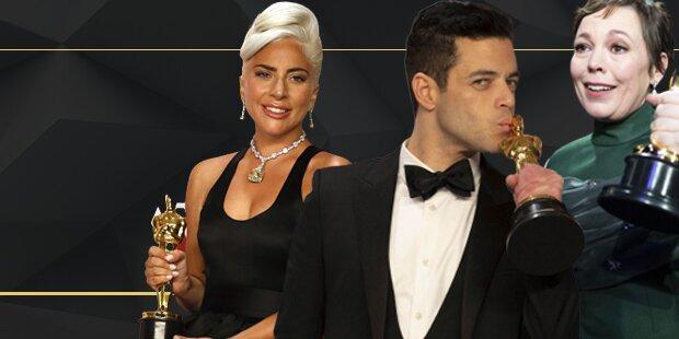 Alle Sieger der Oscar-Nacht