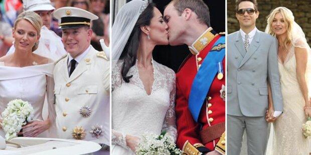 Verliebt, verlobt, verheiratet: Paare 2011