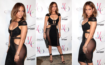 J.Lo zeigt (fast) alles zum 46. Geburtstag