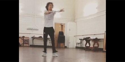 Mick Jagger: Tanz-Video nur Wochen nach Herz-OP