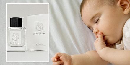 D&G launcht erstes Parfum für Babys