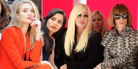 Stars bei der London Fashion Week
