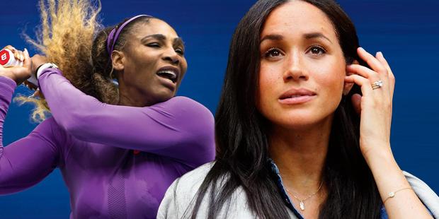 Meghan soll Serena Williams Pech bringen