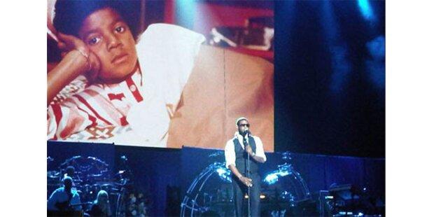 1. Proben-Fotos: Usher rührte zu Tränen