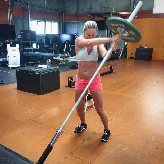 So hart trainiert Lindsey Vonn
