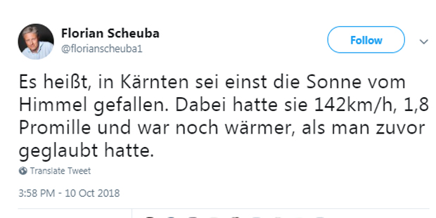 Florian Scheuba Haider