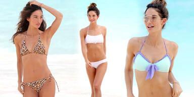 Lily Aldridges Bikini-Body Tipp