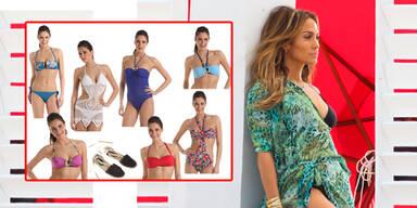 J.Lo launcht ihre Bikini-Kollektion