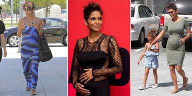 Halle Berrys Schwangerschafts-Outfits