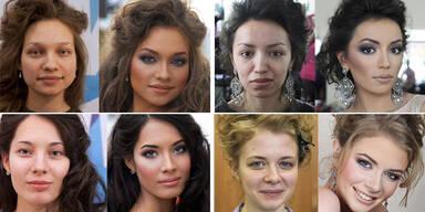 Vadim Andreevs Vorher-Nachher Make Up