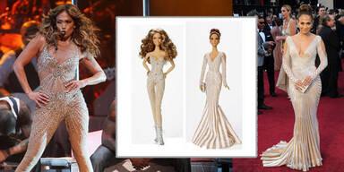 Jennifer Lopez gibt es jetzt als Barbie-Puppe