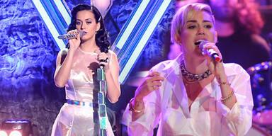 20. MTV-Awards mit Katy Perry & Miley Cyrus