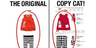 H&M guckt Ideen für Kindermode ab
