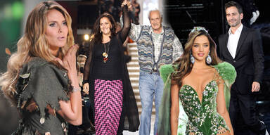 Die Abschiede der Modewelt 2013