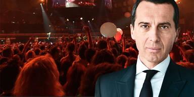 Nach Faymann-Rücktritt: Kern rockt in der Stadthalle