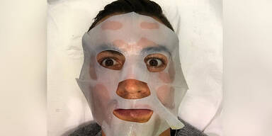 Cristiano Ronaldo: Gesichtsmaske
