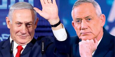 Netanyahu, Gantz