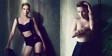 Scarlett Johansson für das 'Interview'-Magazin