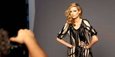 Kampagnen-Shooting der Vienna Fashion Week