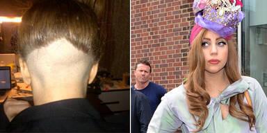 Lady Gaga rasiert  Hinterkopf und twittert Schock-Frisur