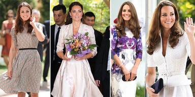 Kates Asien-Kleider