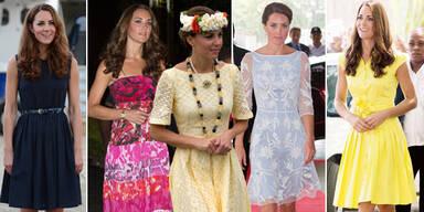 Kates Kleider- Parade in Asien