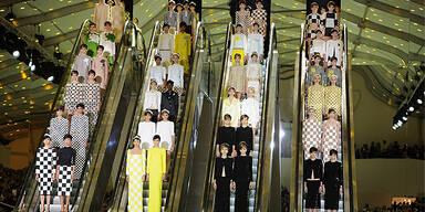 Louis Vuitton setzt auf Schachbrettmuster