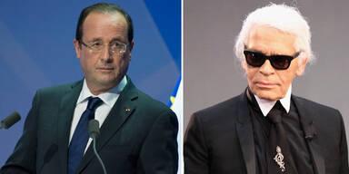 Lagerfeld ätzt gegen Frankreich-Präsidenten