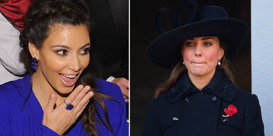 Herzogin schickte Kardashian-Kleider zurück