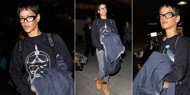 Rihanna mit Prada Baroque Brille