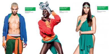 Benetton bekennt Farbe