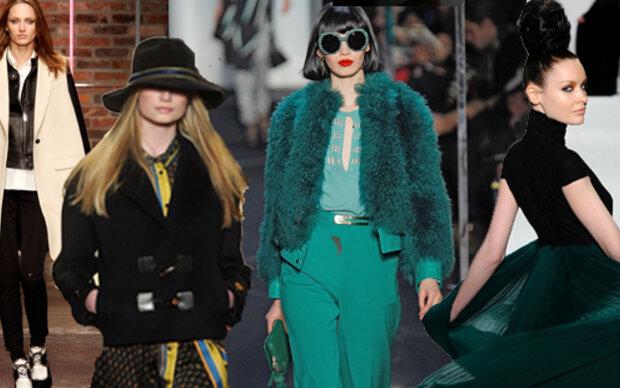 Designer-Größen bei der NY Fashion-Week