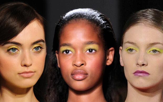 Gelbschimmer für die Augen