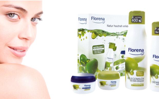 Pflege-Sets von Florena zu gewinnen